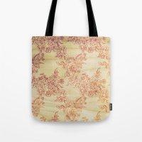 Cabbage Roses - Wood Tote Bag