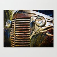 A Car Of A Different Col… Canvas Print