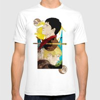 The King And His Sorcero… Mens Fitted Tee White SMALL