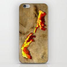 Michelangelo hands. Pixelation iPhone & iPod Skin