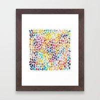 rain 17 Framed Art Print