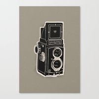 Rolleicord Canvas Print