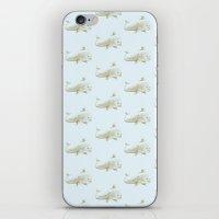 (Cork)screwed Whale iPhone & iPod Skin