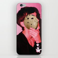 egg face iPhone & iPod Skin