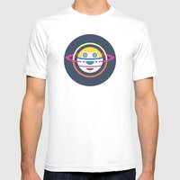 Spaceman 4 Mens Fitted Tee White SMALL