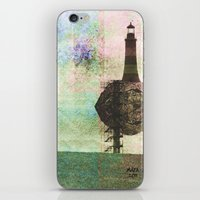 the only place to be high iPhone & iPod Skin