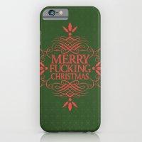 Merry Effin Christmas iPhone 6 Slim Case