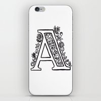 A is for iPhone & iPod Skin