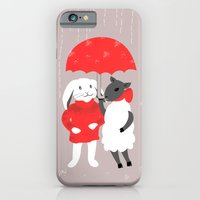 iPhone & iPod Case featuring In the Rain by Inque