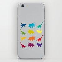 Dino Parade 2 iPhone & iPod Skin