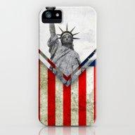 Flag - USA iPhone (5, 5s) Slim Case