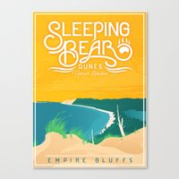 Sleeping Bear Canvas Print