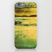 iPhone & iPod Case featuring waves by Laura Moctezuma