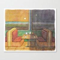 Diner Days, Diner Nights Canvas Print