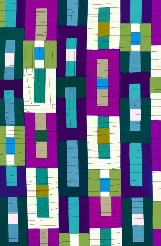 Grid Pretty Art Print