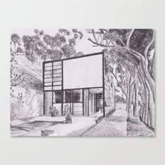 The Eames House  Canvas Print