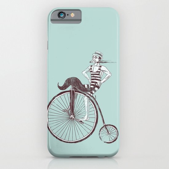 Mustache Handlebar iPhone & iPod Case