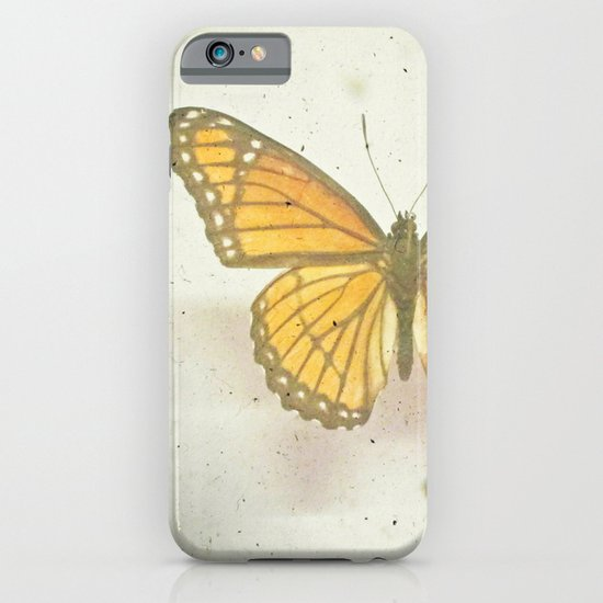 Golden Butterfly iPhone & iPod Case