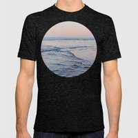 Pacific Dreaming Mens Fitted Tee Tri-Black SMALL