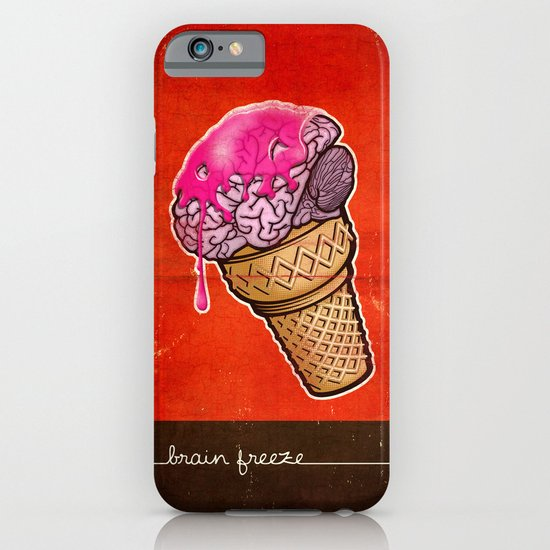 Brain Freeze! iPhone & iPod Case