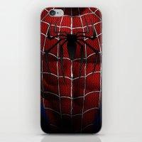 spider man iPhone & iPod Skin