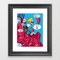 Yipppeee! Framed Art Print