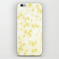 Vintage Yellow Daisies All Over iPhone & iPod Skin