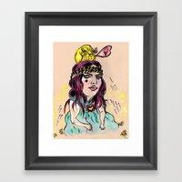 Summer's Daydream Framed Art Print