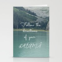 Follow The Directions Of… Stationery Cards