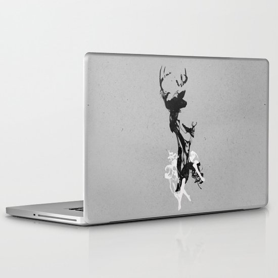 Last time I was a Deer Laptop & iPad Skin