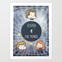 Doctor Who: Eleven And T… Art Print