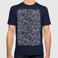 Ab Fan Electric Repeat Mens Fitted Tee Navy SMALL
