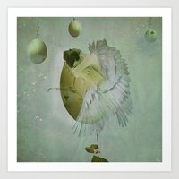 Birth Of An Angel Art Print