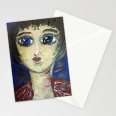 THE GIRL WHO PROTECTED OTHERS FROM TRENT Stationery Cards