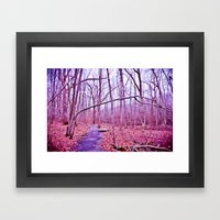 Genuflection Framed Art Print