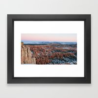 Bryce Canyon Sunrise Framed Art Print