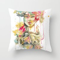 THE MIND IS EVERYTHING. … Throw Pillow