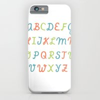 iPhone & iPod Case featuring ABC...RGB... by elisa talens