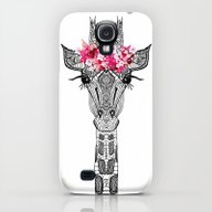 FLOWER GIRL Galaxy S4 Slim Case