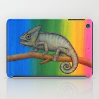 Chameleon (2) iPad Case