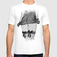 La Femme_06 Mens Fitted Tee White SMALL