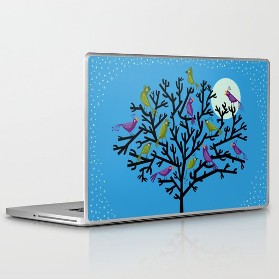 The Night Birds Laptop & iPad Skin