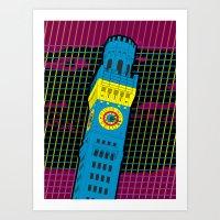 Bawlmer In CMYK Art Print
