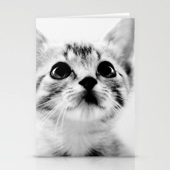 Sweet Kitten Stationery Card