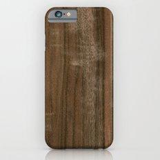 Australian Walnut Wood Slim Case iPhone 6s