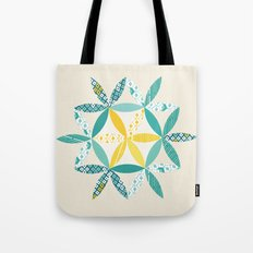 Patchwork Sunshine Tote Bag