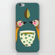a tea for two iPhone & iPod Skin
