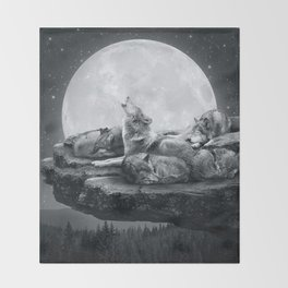 Throw Blanket - Echoes of a Lullaby - soaring anchor designs