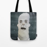 The Abominable Snowman Tote Bag