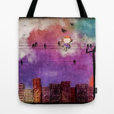 mon coeur s'ouvre a ta voix Tote Bag